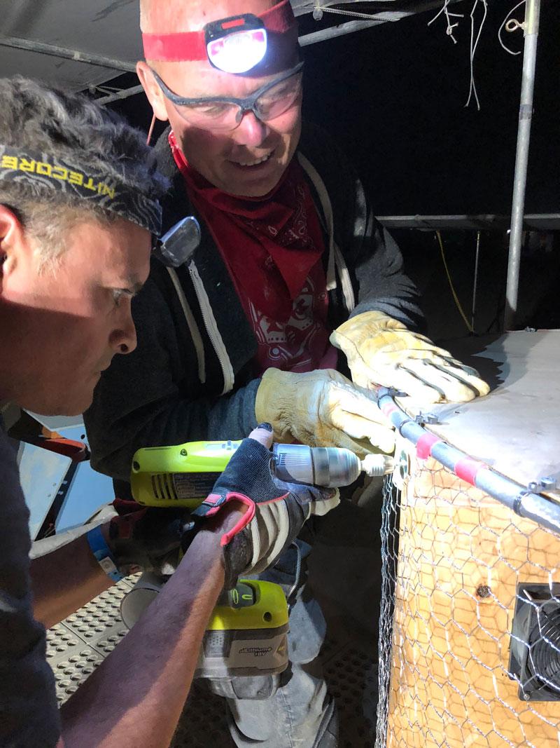 Building the Evaporator 2018