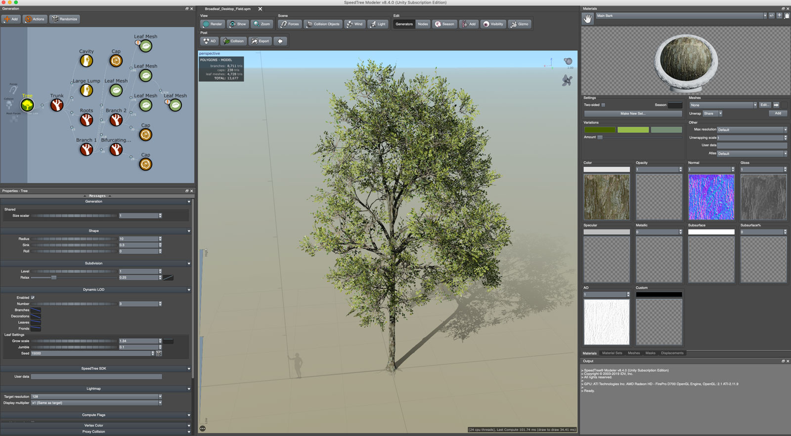 Speedtree 8 4 for Games is now available - trilo org
