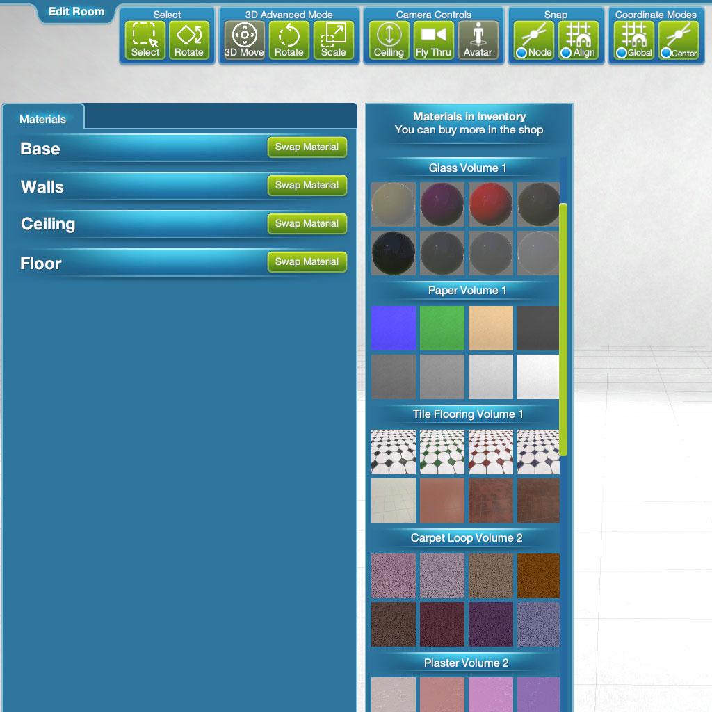 Studio 1 Region Materials