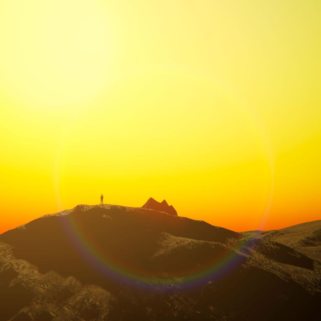 Ridge At Sunset