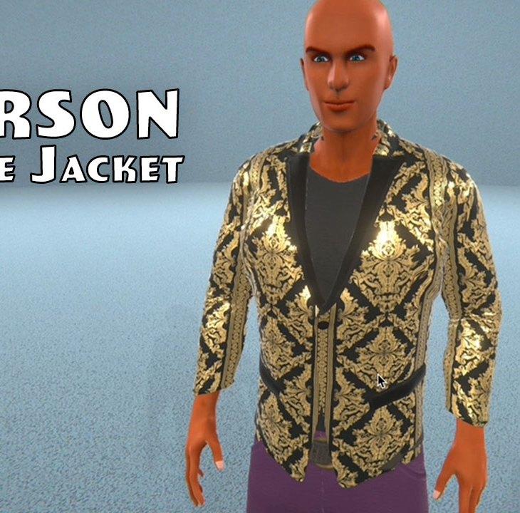Pearson Brocade Jacket