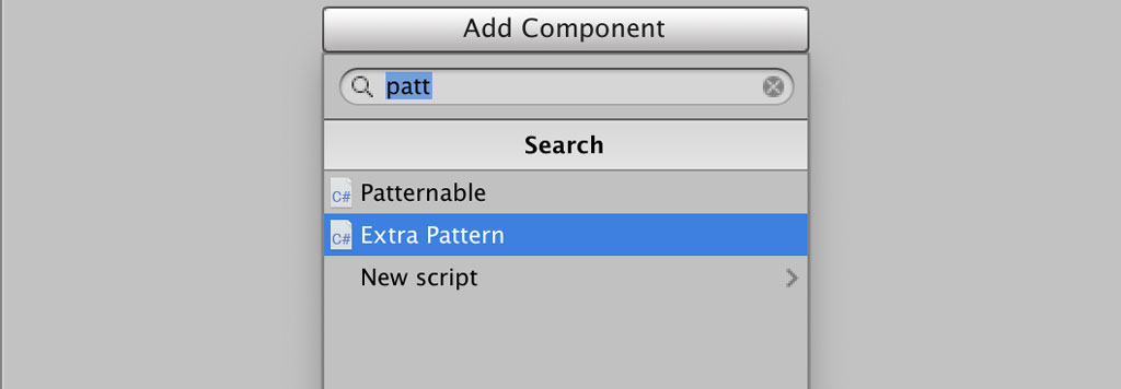 Add Extra Pattern