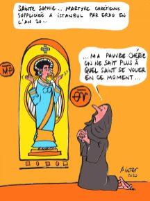 Sainte Sophie martyre en l'an 20