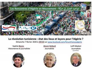 La révolution tunisienne : état des lieux et leçons pour l'Algérie ?