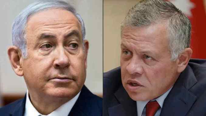 Le torchon brûle entre la Jordanie et Israël