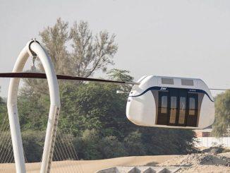 Sharjah ouvre sa première ligne de wagons aériens à grande vitesse