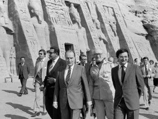 Mitterand Egypte Macron