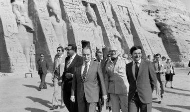 Mitterand Egypte