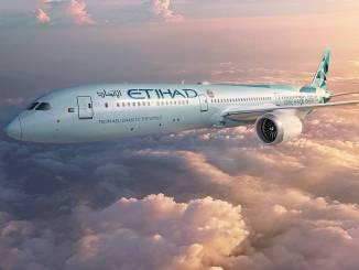 Etihad's modified Boeing 787 'Greenliner'. Courtesy: Etihad