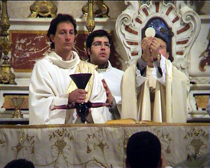 62. In Requiem di Gene Anthony Ray - 2005 messa performativa nella chiesa di santa Rita a Trapani -d