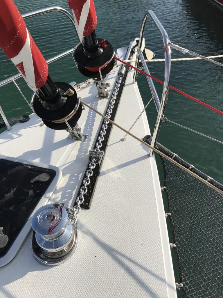 Minimale benötigte Länge der Ankerkette; minimal required anchor chain length