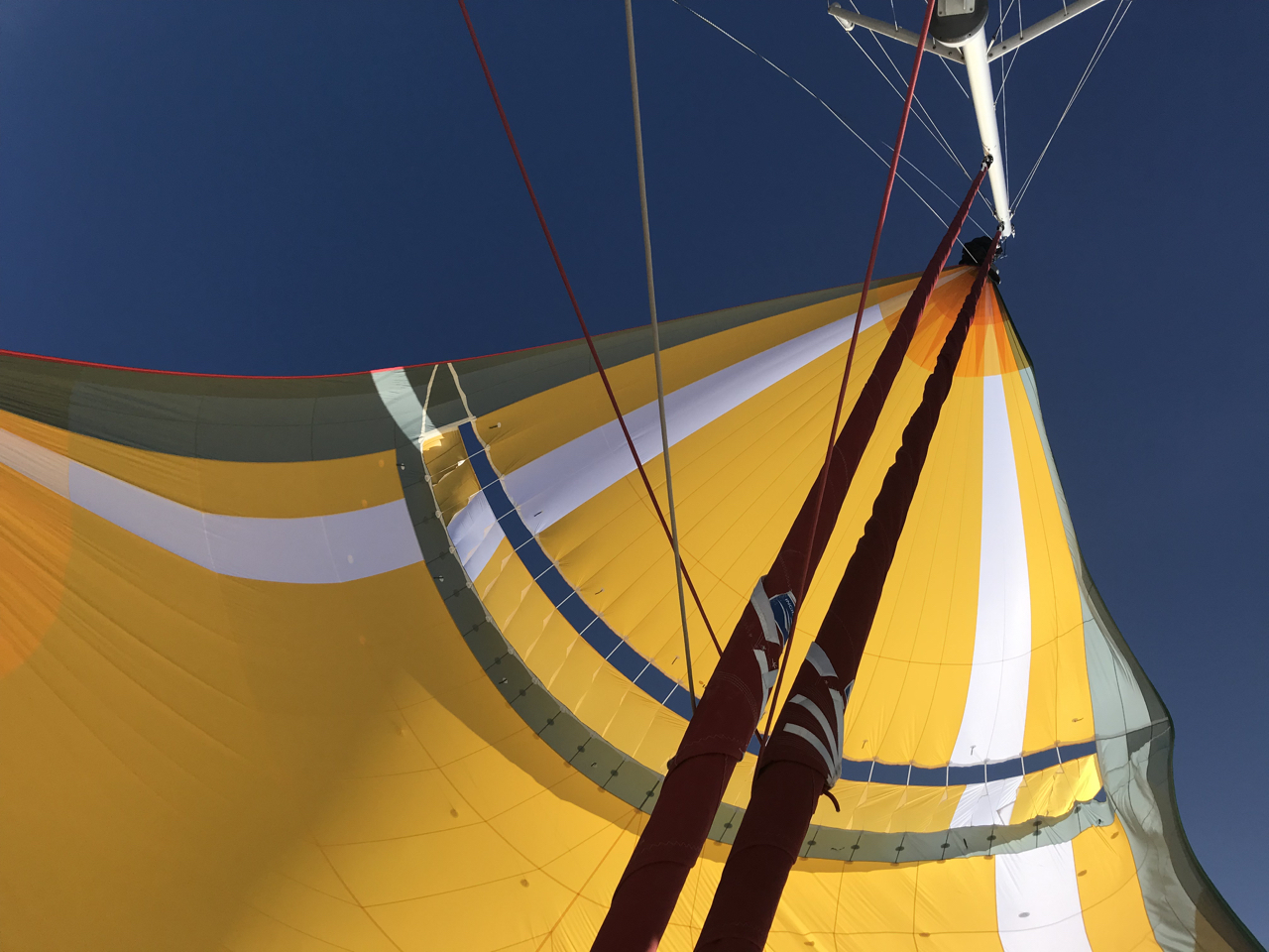 Sailing with a Parasailor on a NEEL 51