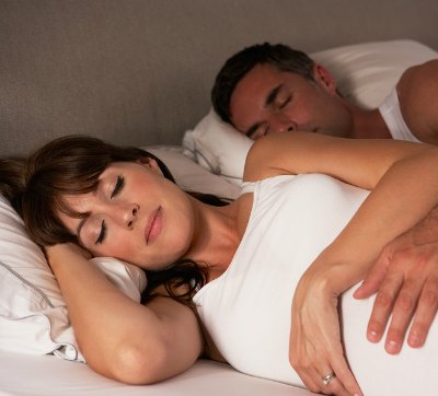Will labor contractions wake you up?