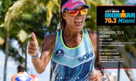 El Ironman 70.3 de Miami ha sido descontinuado.
