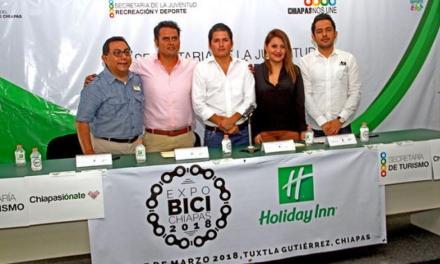 En Chiapas se esta llevando a cabo la Expo Bici Chiapas 2018.
