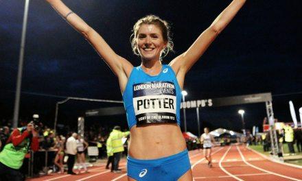 Beth Potter desafía las leyes de la física mientras hace historia en dos deportes diferentes.