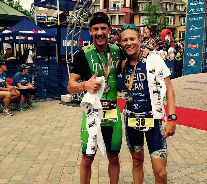 Enfrentamiento totalmente canadiense en el Ironman 70.3 Mont-Tremblant este fin de semana.