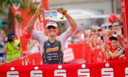 Sebastian Kienle por fin triunfa en 2018 ganando el Challenge Heilbronn.