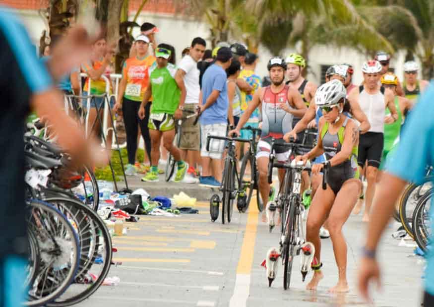Se esperan 500 triatletas en el Triatlón Sprint Boca el día de mañana.