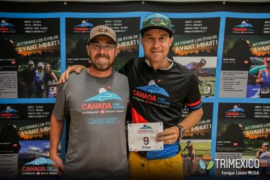 Participantes Canadaman Extreme Triathlon