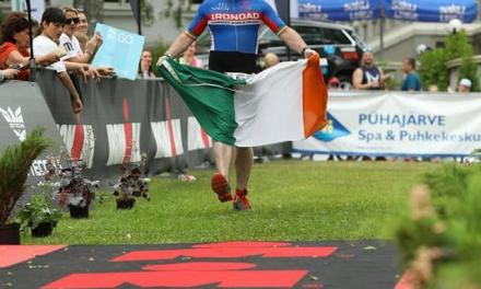 Irlandés rompe el récord mundial de Guinness al completar la mayor cantidad de triatlones IM 70.3 en un año.