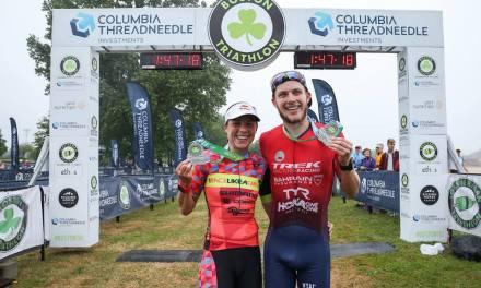 Ben Kanute y Angela Naeth ganan el Triatlón de Boston