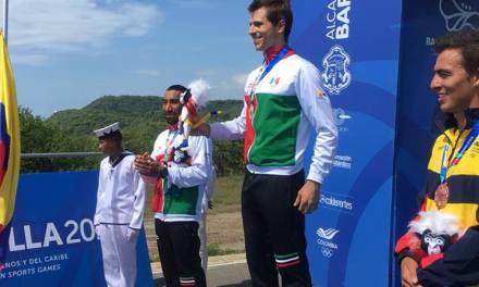 México logra oro en las dos competencias de hoy de la rama varonil en Barranquilla 2018.