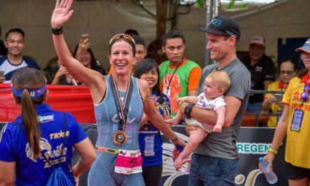 Radka Vodickova-Kahlefeldt continuó su increíble temporada en el Ironman 70.3 Asia-Pacific Championship en Cebu, Filipinas.