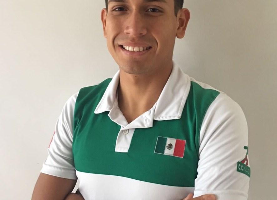 Edson Gómez buscará seguir mejorando y clasificar a Tokio 2020.