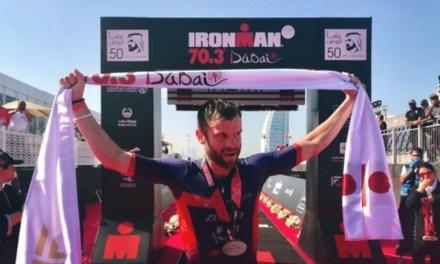 Adam Bowden se viste de oro en el IRONMAN 70.3 de Dubai