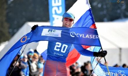 Arrasa Rusia en el Campeonato Mundial de Triatlón de Invierno 2019