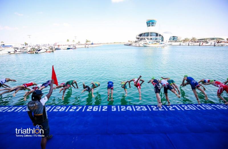 Mueven la Serie Mundial de Triatlón de Abu Dhabi para noviembre