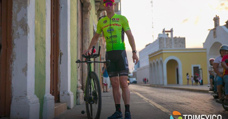 Comparte Frederick van Lierde sus vivencias, previo al IRONMAN 70.3 Campeche