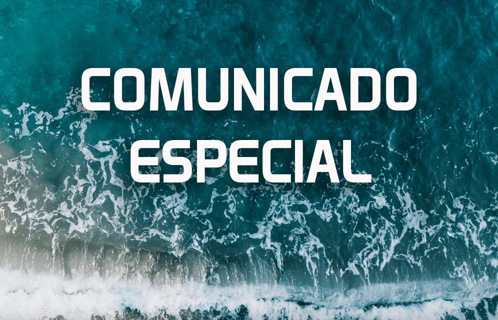 Comunicado especial de Challenge Cancún