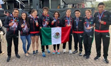Deja gran producción de metales para México el Mundial de Duatlón en Pontevedra