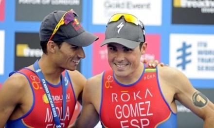 Considera Gómez Noya a Mola como el mejor del mundo en corta distancia