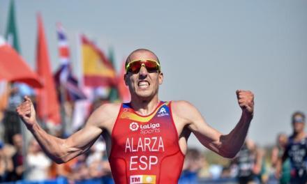Lideran Alarza y Zaferes el ranking de las Series Mundiales de Triatlón