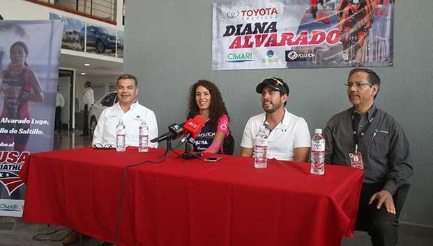 Busca triatleta saltillense apoyo para acudir al Mundial en Lausanne