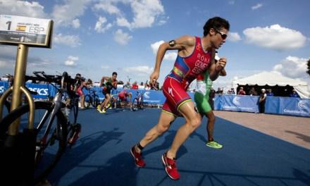 Sorprende a Gómez Noya el gran nivel que hay actualmente en los triatlones ITU