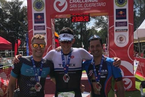 Logra Arturo Garza podio en el Challenge San Gil 2019