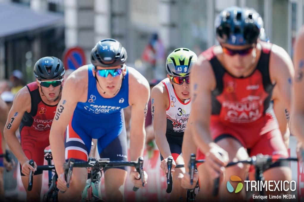 Diego López séptimo lugar en Sub 23 Triatlón Lausanne