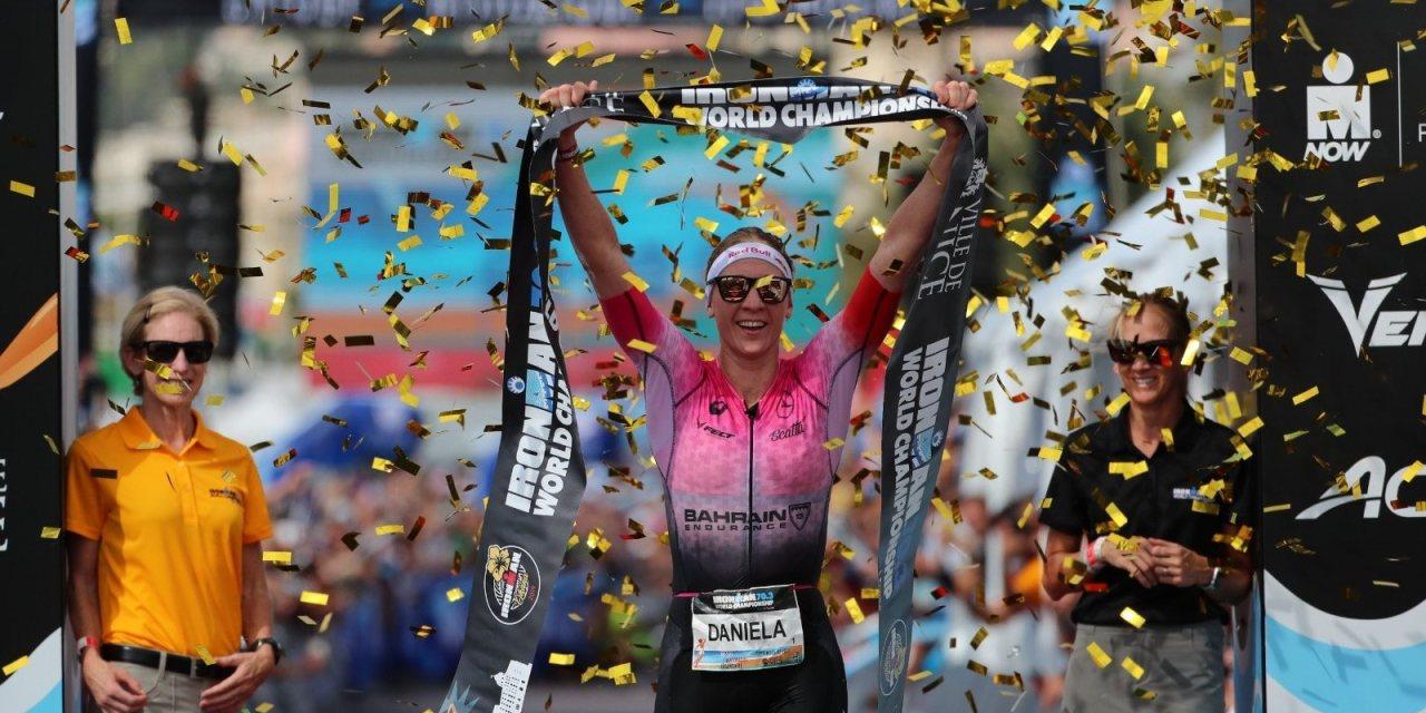 Se convierte Daniela Ryf en reina del IRONMAN 70.3 con su triunfo en Niza