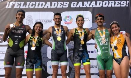 Pérez y Nuñez son los campeones del décimo Triatlón Acapulco Cabo Marqués