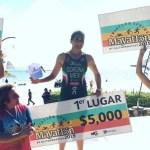 Gana Fabiola Corona el Mayatlón 2019