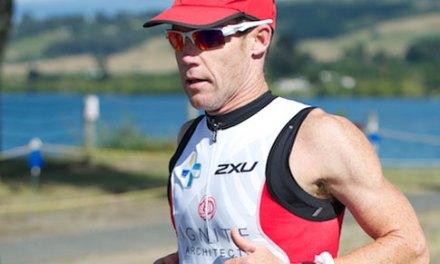 Se propone Cameron Brown su victoria 13 en el IRONMAN Nueva Zelanda