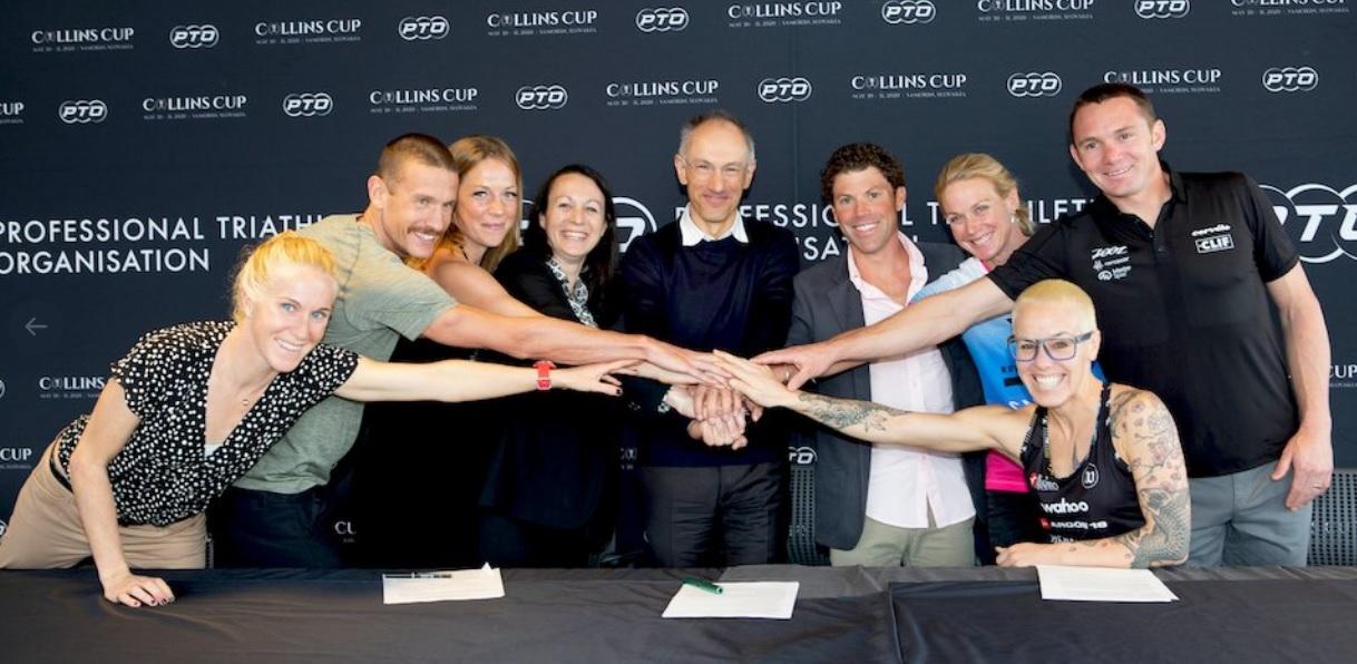 Consigue Organización de Triatletas Profesionales 2 millones de dólares para la Collins CUP