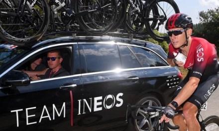 Prepara Cameron Wurf su temporada 2021 en Andorra, con el equipo INEOS