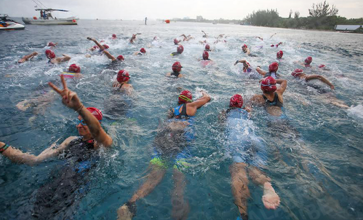 Top 10 de mexicanos en Ironman Cozumel 2020