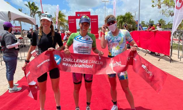 Mexicana Palmira Álvarez toma el tercer puesto del CHALLENGE Cancún, prueba que gana la argentina Romina Palacio