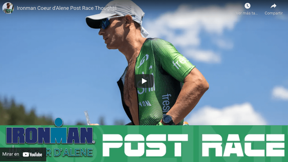 Ironman Coeur d'Alene Post Race Thoughts
